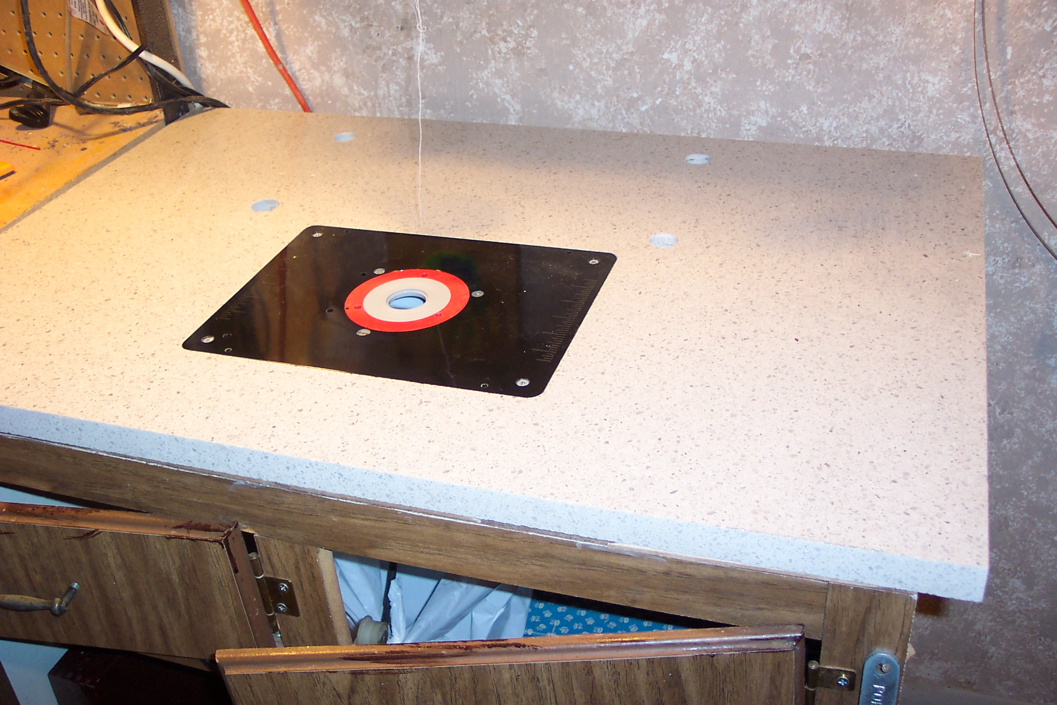 Silestone router table top a gloat greentooth Choice Image